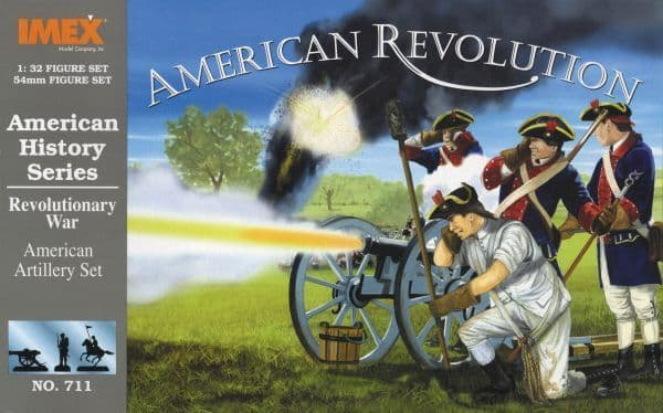 Imex 1/32 American Artillery American War of Independence # 711