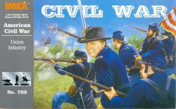 Imex 1/32 Union Infantry American Civil War # 705