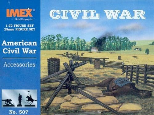 Imex 1/72 American Civil War Accessories # 507