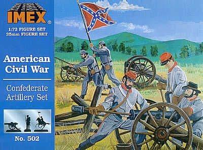 Imex 1/72 American Civil War Confederate Artillery # 502