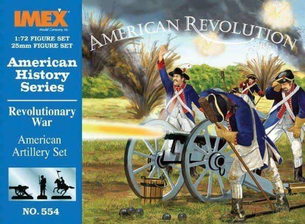 Imex 1/72 American Revolutionary War American Artillery # 554