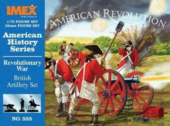 Imex 1/72 American Revolutionary War British Artillery # 555