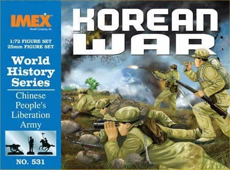 Imex 1/72 Chinese People's Liberation Army Korean War # 531