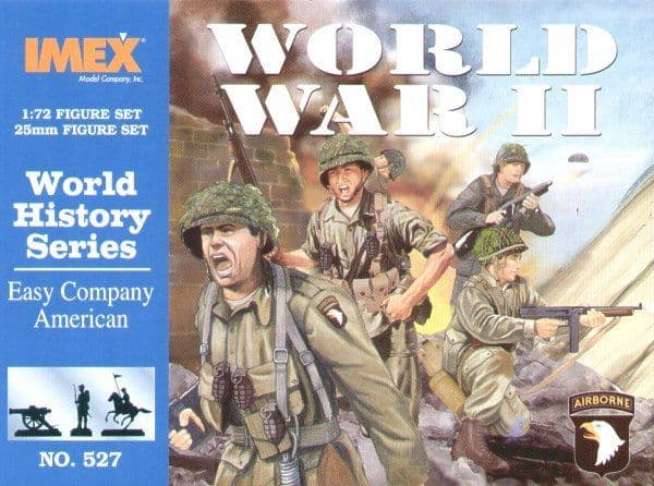 Imex 1/72 Easy Company WWII American Infantry # 527