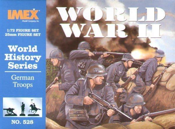 Imex 1/72 German Troops WWII # 528