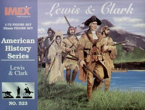 Imex 1/72 Lewis and Clark # 523
