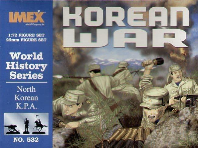 Imex 1/72 North Korean K.P.A. Korean War # 532