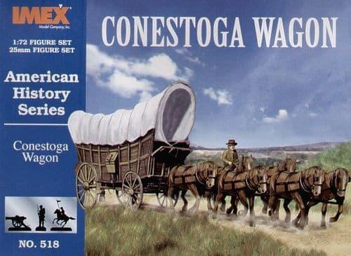 Imex 1/72 Settlers Conestoga Wagon # 518