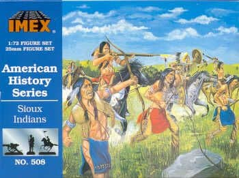 Imex 1/72 Sioux Indians # 508