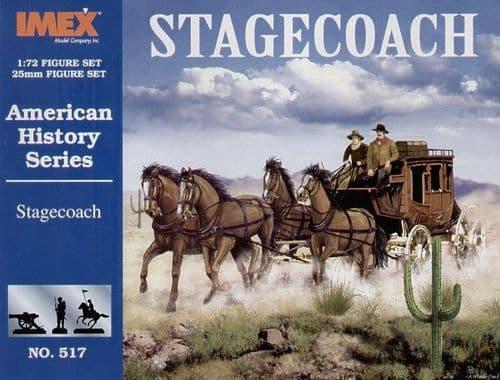 Imex 1/72 Wells Fargo Stagecoach # 517