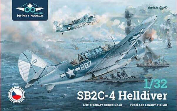 Infinity Models 1/32 Curtiss SB2C-4 Helldiver # 3201