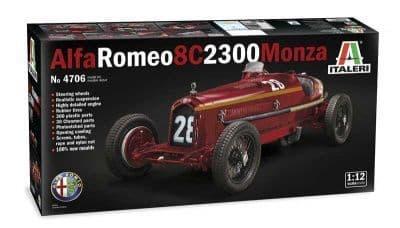 Italeri 1/12 Alfa Romeo 8C 2300 Monza # 4706