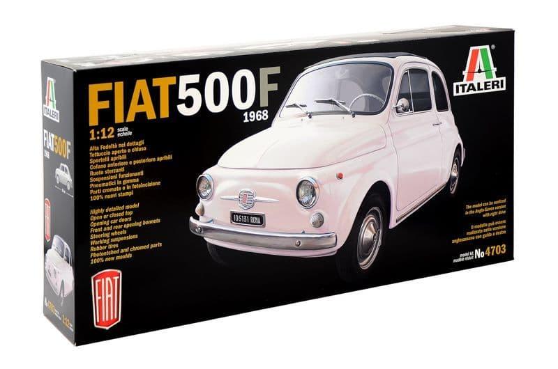 Italeri 1/12 Fiat 500F 1968 # 4703