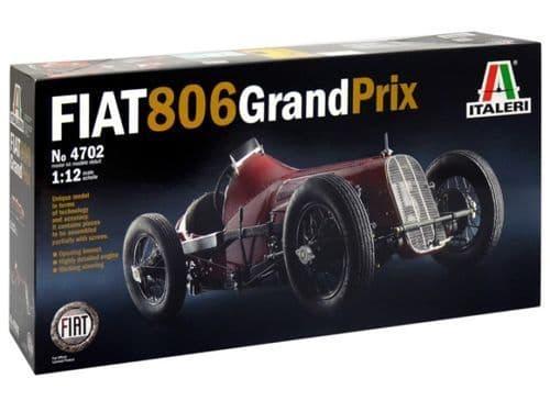 Italeri 1/12 Fiat 806 Grand Prix # 4702