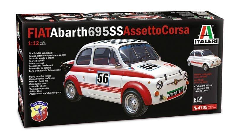 Italeri 1/12 Fiat Abarth 695SS Assetto Corsa # 4705