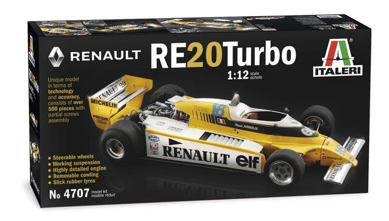 Italeri 1/12 Renault RE20 Turbo # 4707