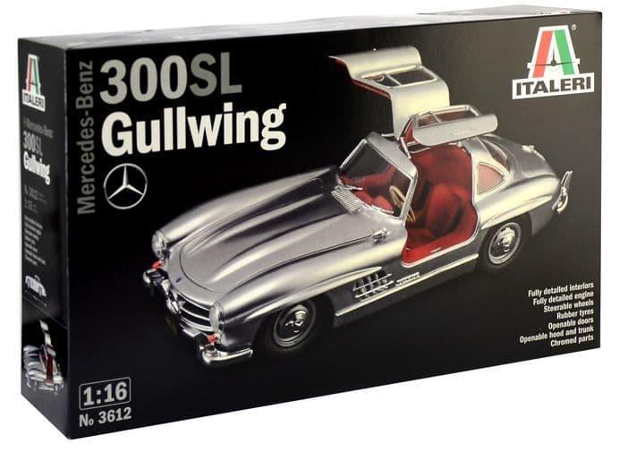 Italeri 1/16 Mercedes-Benz 300SL Gullwing # 3612
