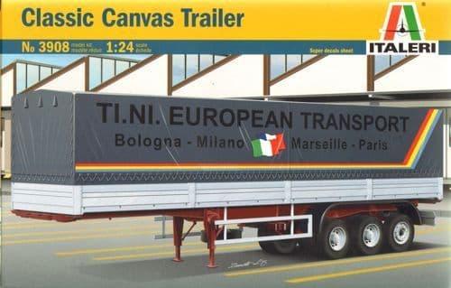 Italeri 1/24 Classic Canvas Trailer # 3908