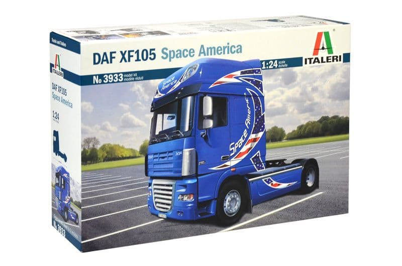 "Italeri 1/24 DAF XF105 ""Space America"" # 3933"