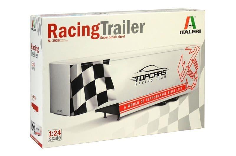 Italeri 1/24 Racing Trailer # 3936