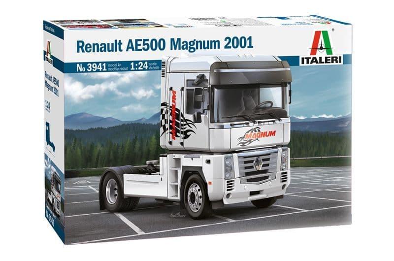Italeri 1/24 Renault AE500 Magnum - 2001 # 3941
