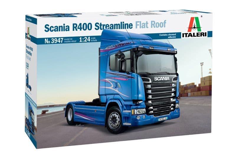 Italeri 1/24 Scania R400 Streamline (Flat Roof) # 3947