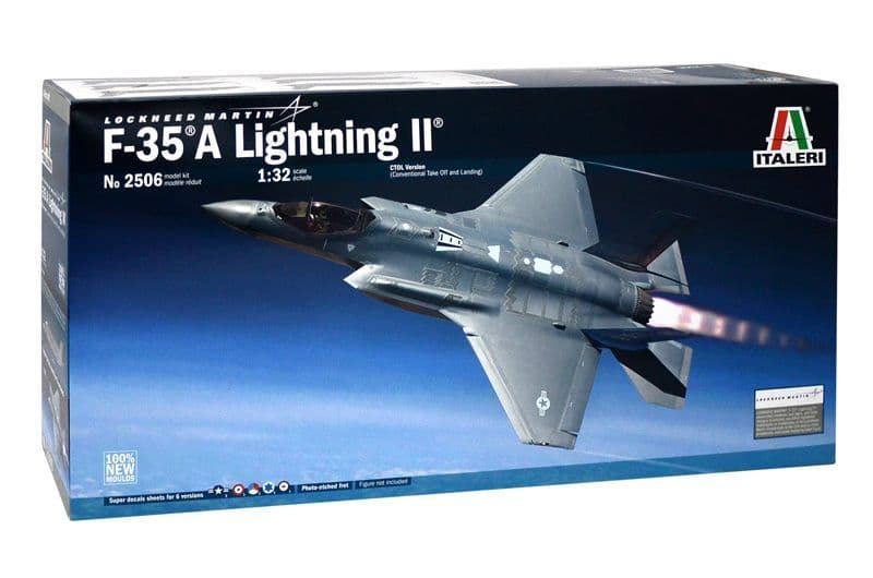 Italeri 1/32 Lockheed Martin F-35 A Lightning II # 2506
