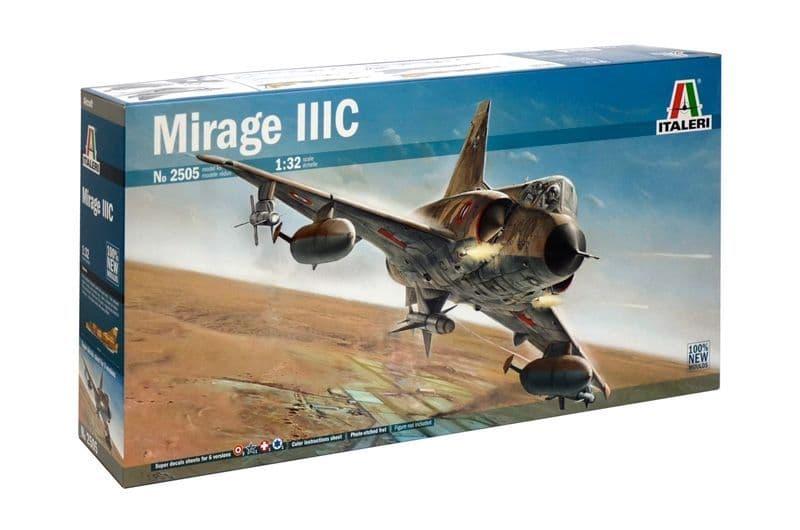 Italeri 1/32 Mirage IIIC # 2505