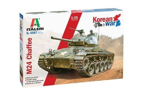 Italeri 1/35 M24 Chaffee Korean War # 6587