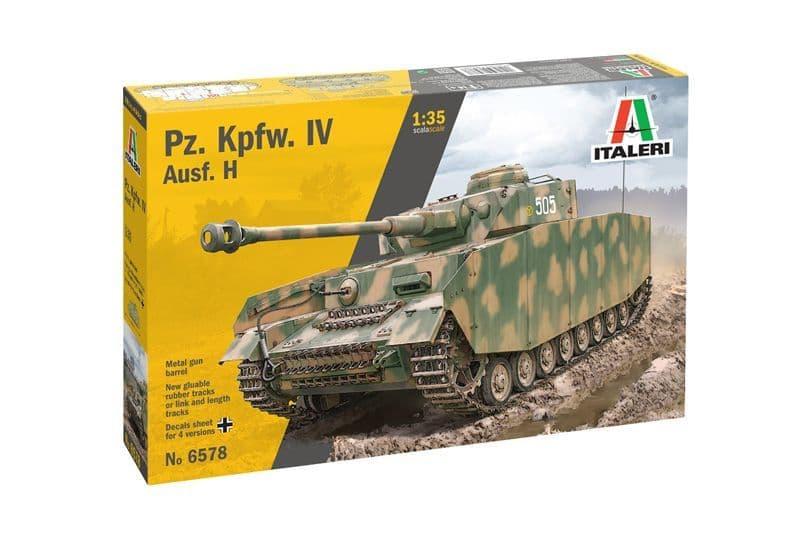 Italeri 1/35 Pz. Kpfw. IV Ausf. H # 6578
