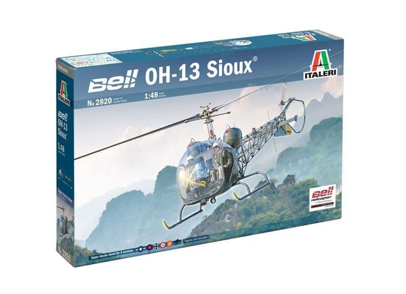 Italeri 1/48 Bell OH-13 Sioux # 2820