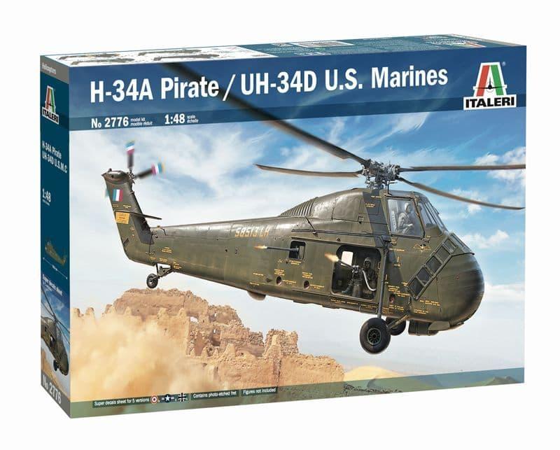 Italeri 1/48 H-34A Pirate /UH-34D U.S. Marines # 2776