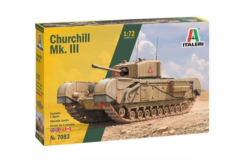 Italeri 1/72 Churchill Mk. III # 7083