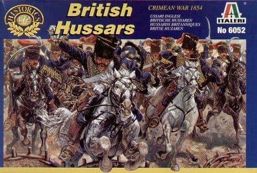 Italeri 1/72 Crimean War British Hussars # 6052