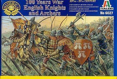 Italeri 1/72 English Knights and Archers - 100 Years War # 6027