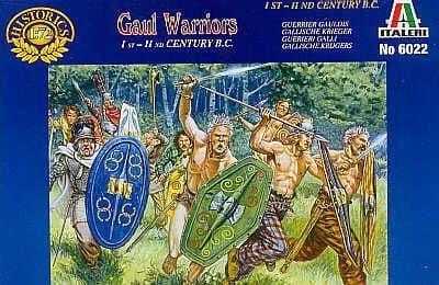 Italeri 1/72 Gaul Warriors # 6022