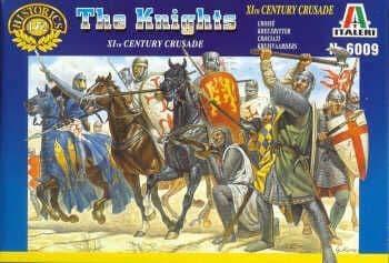 Italeri 1/72 Knights - XIth Century Crusaders # 6009