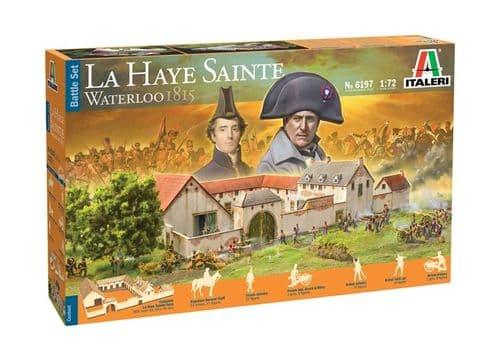 Italeri 1/72 La Haye Sainte Waterloo 1815 Battle Set # 6197
