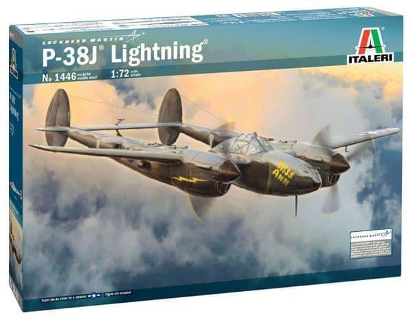 Italeri 1/72 Lockheed P-38J Lightning # 1446