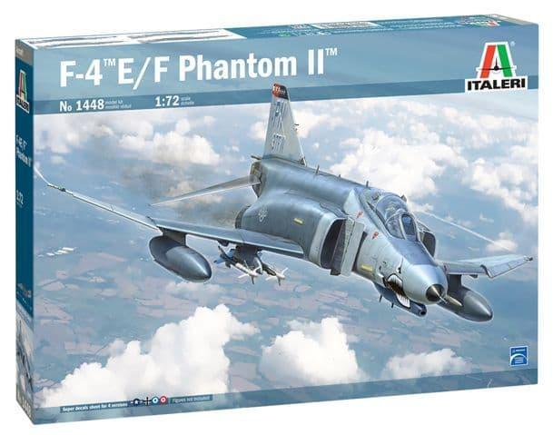 Italeri 1/72 McDonnell F-4E/F Phantom II # 1448