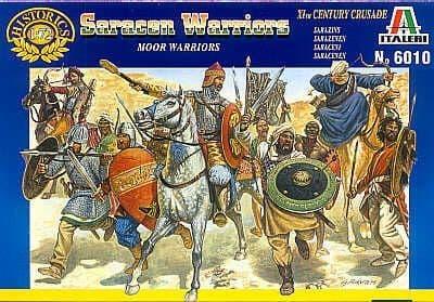 Italeri 1/72 Moors / Saracen Warriors # 6010