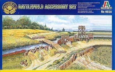 Italeri 1/72 Napoleonic Battlefield Accessory Set # 6030