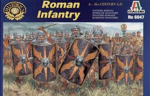 Italeri 1/72 Roman Infantry AD # 6047