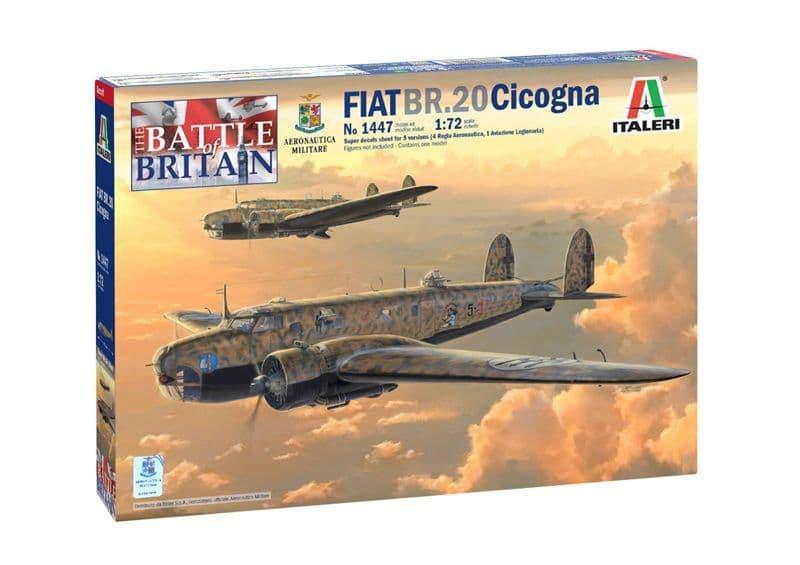Italeri 1/72 The Battle of Britain Fiat BR.20 Cicogna # 1447