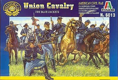 Italeri 1/72 Union Cavalry - American Civil War # 6013