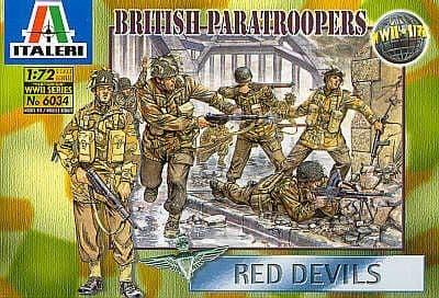Italeri 1/72 WWII British Paratroopers # 6034