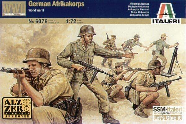 Italeri 1/72 WWII German Afrika Korps # 6076