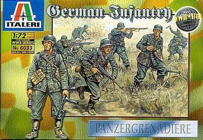 Italeri 1/72 WWII German Infantry # 6033