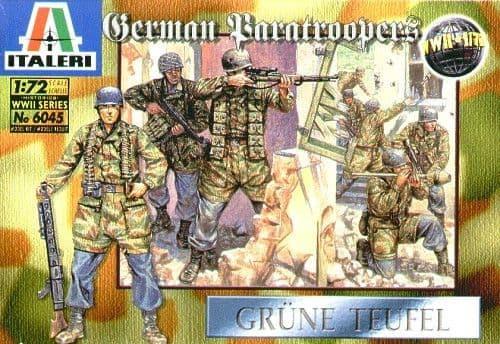 Italeri 1/72 WWII German Paratroopers # 6045