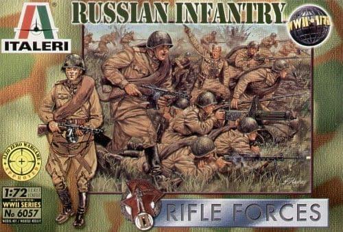 Italeri 1/72 WWII Russian Infantry # 6057